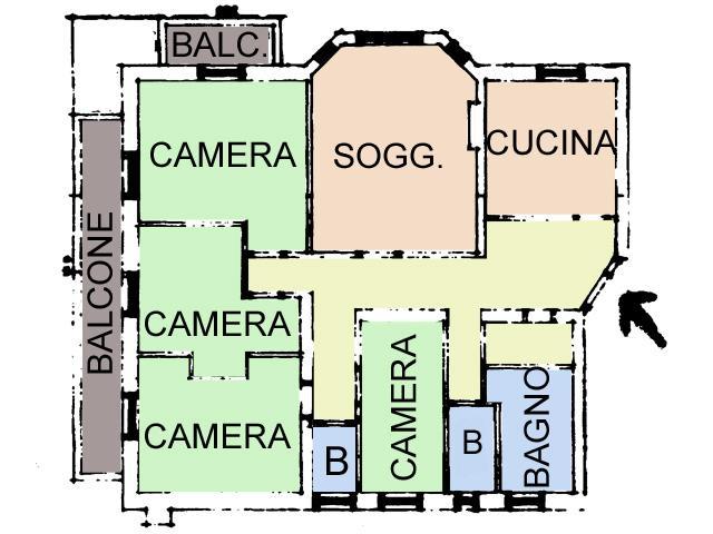 Appartamenti casa elisa pozza di fassa for Capanna con 4 camere da letto