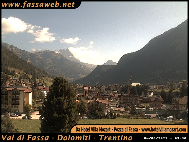 Pozza di Fassa Webcam