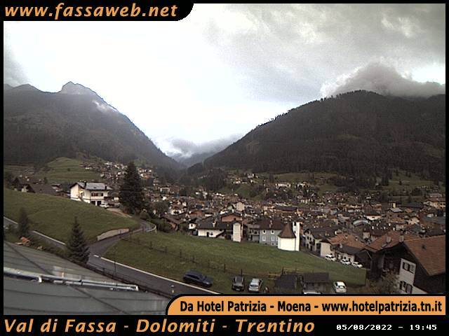 Webcam Pozza di Fassa - Val di Fassa - Dolomiti - Trentino
