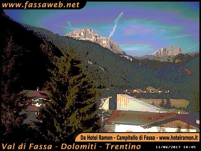 Webcam Campitello di Fassa - Val di Fassa - Dolomiti - Trentino