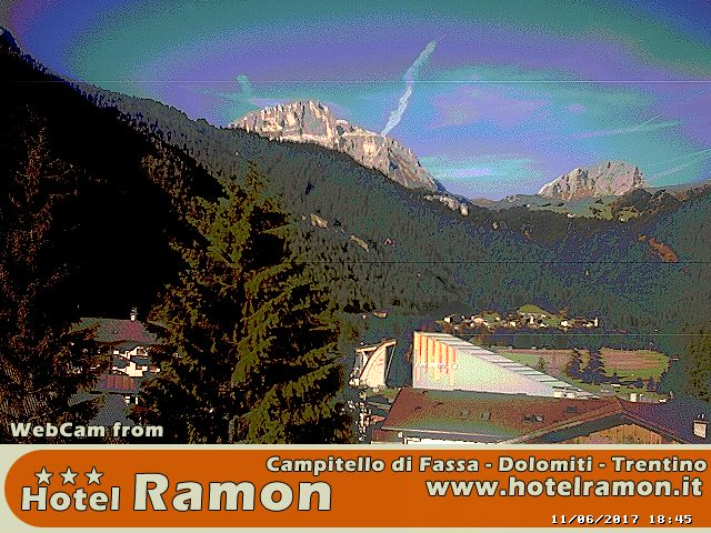 webcamHotelRamon Webcam Dolomiti